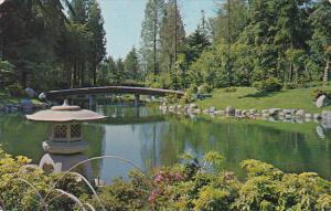 Canada Nitobe Gardens University Grounds Vancouver British Columbia