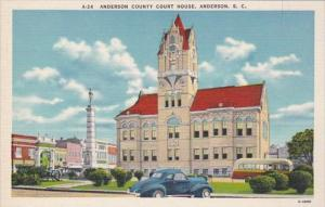 South Carolina Anderson County Court House