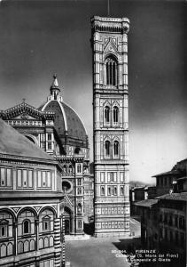 Italy Florence Cathedral The Belfry by Giotto Postcard