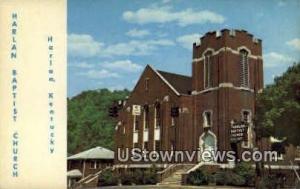 Harlan Baptist Church Harlan KY Unused