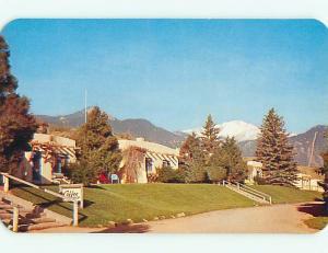 Unused 1950's EL DORADO LODGE MOTEL Manitou Springs Colorado CO s1904