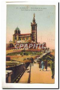 Marseille Old Postcard Our Lady of the Guard