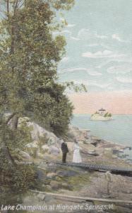 HIGHGATE SPRINGS , Vermont , 1900-10s , Lake Champlain