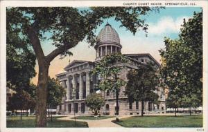 Illinois Springfield County Court House