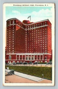 Providence RI, Providence Biltmore Hotel, Vintage Rhode Island Postcard
