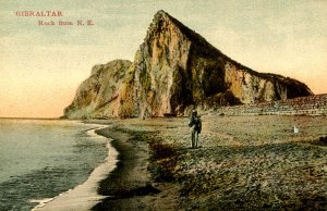 Gibraltar - The Rock from the North East