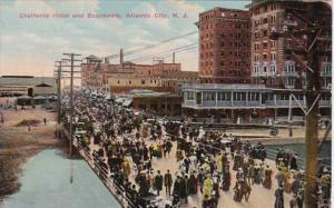 New Jersey Atlantic City Chalfonte Hotel and Boardwalk 1913
