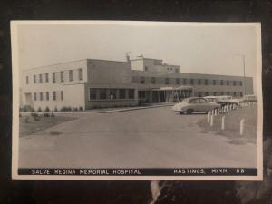 Mint Usa RPPC Real Picture Postcard Salve Regina Hospital Hastings MN