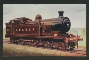 Mint England London Brighton & South Coast Railway Locomotive Picture Postcard
