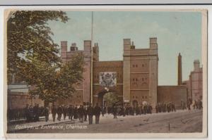 Kent; Dockyard Entrance, Chatham PPC By Milton, 1915, To Mrs Allaway, Penrith