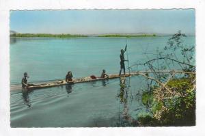 RP: Congo Belge - Pirogue sur le Fleuve 20-40s