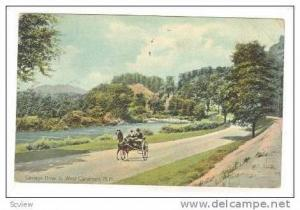Carriage Drive to West Claremont, New Hampshire,1908