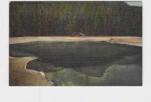 VINTAGE POSTCARD NATIONAL STATE PARK YELLOWSTONE EMERALD POOL #2