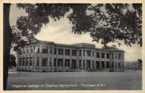 Imperial College of Tropical Agriculture, Trinidad, Early Postcard, Unused