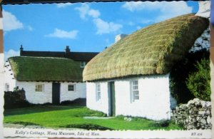 Isle of Man Kelly's Cottage Manx Museum - unposted