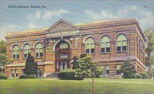 Pennsylvania Easton Public Library