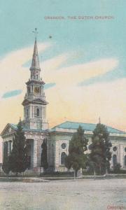 South Africa Cradock Dutch Church Antique Postcard