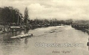Oxford Eights Rowing Team Unused