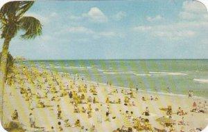 Florida Miami Beach On the Golden Sands In Miami Beach