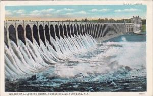Alabama Florence Wilson Dam Looking South Muscle Shoals