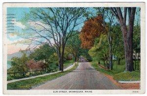Skowhegan, Maine, Elm Street