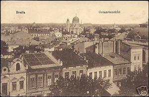 romania, BRAILA, Panorama (ca. 1918)