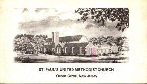 New Jersey Ocean Grove St Paul's United Methodist Church 1989