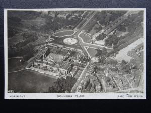 London BUCKINGHAM PALACE From The Air c1920's RP Postcard by Avro / Samuels