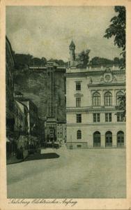 austria, SALZBURG, Elektrischer Aufzug, Electric Elevator (1920s)