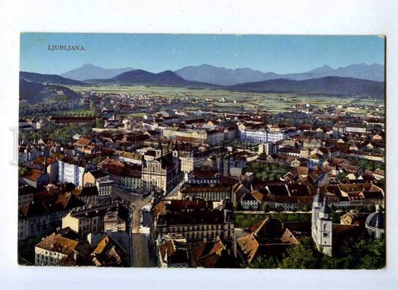192088 SLOVENIA LJUBLJANA Vintage postcard