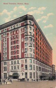 BOSTON, Massachusetts, 1900-1910s; Hotel Touraine