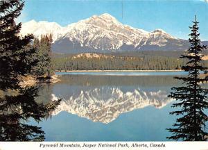 Pyramid Mountain - Alberta, Canada