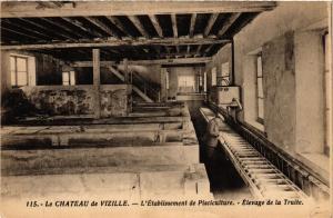 CPA Le Chateau de VIZILLE - L'Etabl. de Pisciculture - Elevage... (653207)