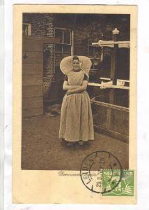 Feeurvsche boerin, Leiden, Zuid-Holland, Netherlands, PU-1920