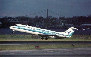 Republic Airlines McDonnell Douglas DC-9-31 At La Guardia Airport