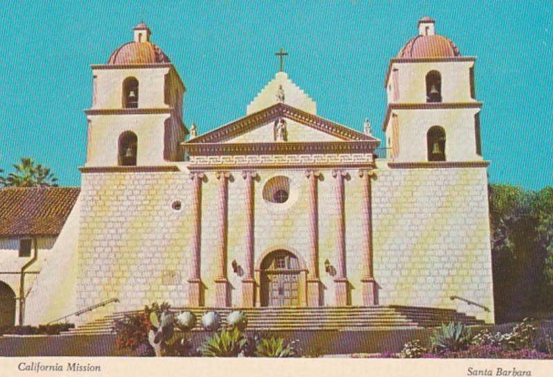 California Mission Santa Barbara Main Chapel
