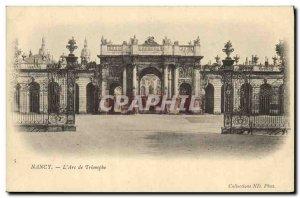 Old Postcard Nancy L Arc de Triomphe