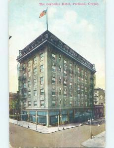 Bent Divided-Back HOTEL SCENE Portland Oregon OR B4731