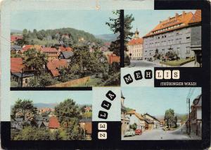 Zella Mehlis Thueringer Wald, Teilansicht Postamt Dr Kuelz Platz Auto Cars