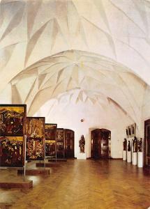 Poland Olsztyn Krysztalowe sklepienie Sali Kopernikowskiej gotyckim zamku