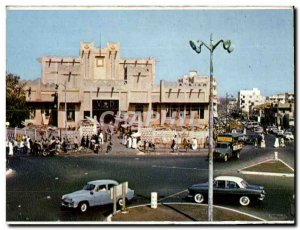 Postcard Modern Square and Le Marche Sandaga Senegal