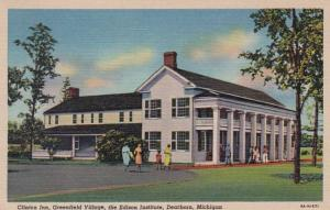 Michigan Dearborn Clinton Inn Greenfield Village The Edison Institute 1951 Cu...
