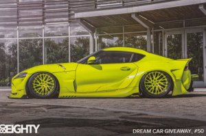 80/EIGHTY , Dream Car Giveaway