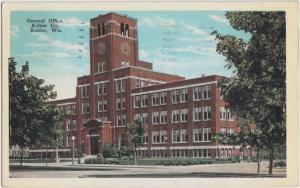 Wisconsin WI Postcard 1940 KOHLER General Office KOHLER Company Factory