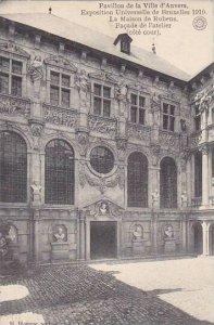 Exposition Universelle Bruxelles 1910 Pavillon de la Ville d'Anvers