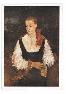 German Artist R H Eisenmenger Painting Portrait Wiener Kunstlerhaus 4X6 Postcard