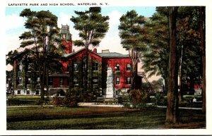 New York Waterloo Lafayette Park and High School