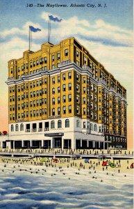 NJ - Atlantic City. The Mayflower Hotel