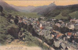 Le Mont-Dore, Vue generale et le Capucin, Puy-de-Dome, France, 00-10s
