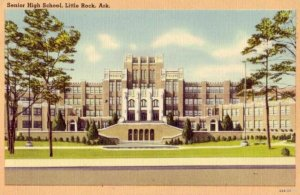 LITTLE ROCK ARKANSAS SENIOR HIGH SCHOOL 1950